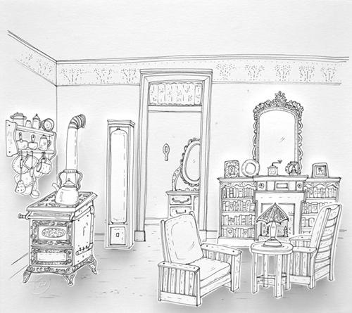 Escena Cotidiana 1910